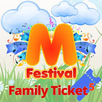5 PERSON FAMILY TICKET