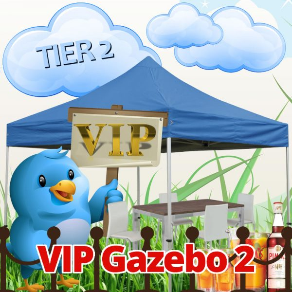 VIP GAZEBO PACKAGE TIER 2
