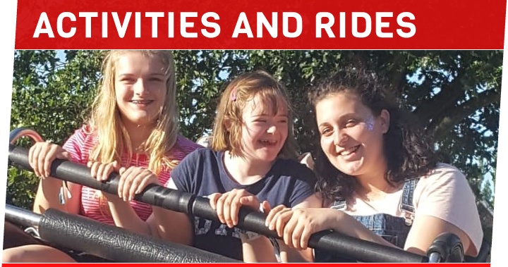 ACTIVITIES AND RIDES