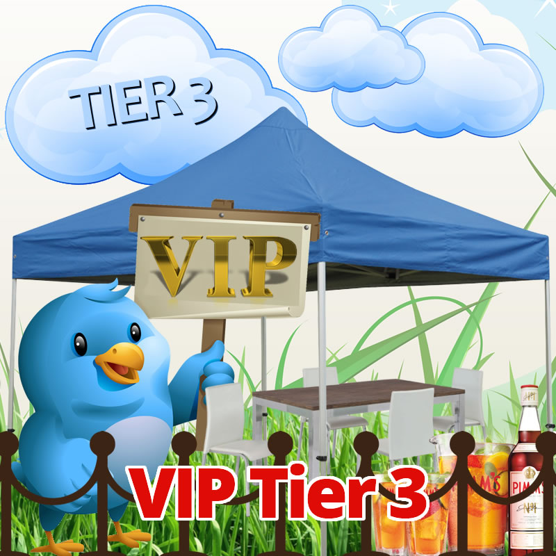 VIP Gazebo Package Tier 3