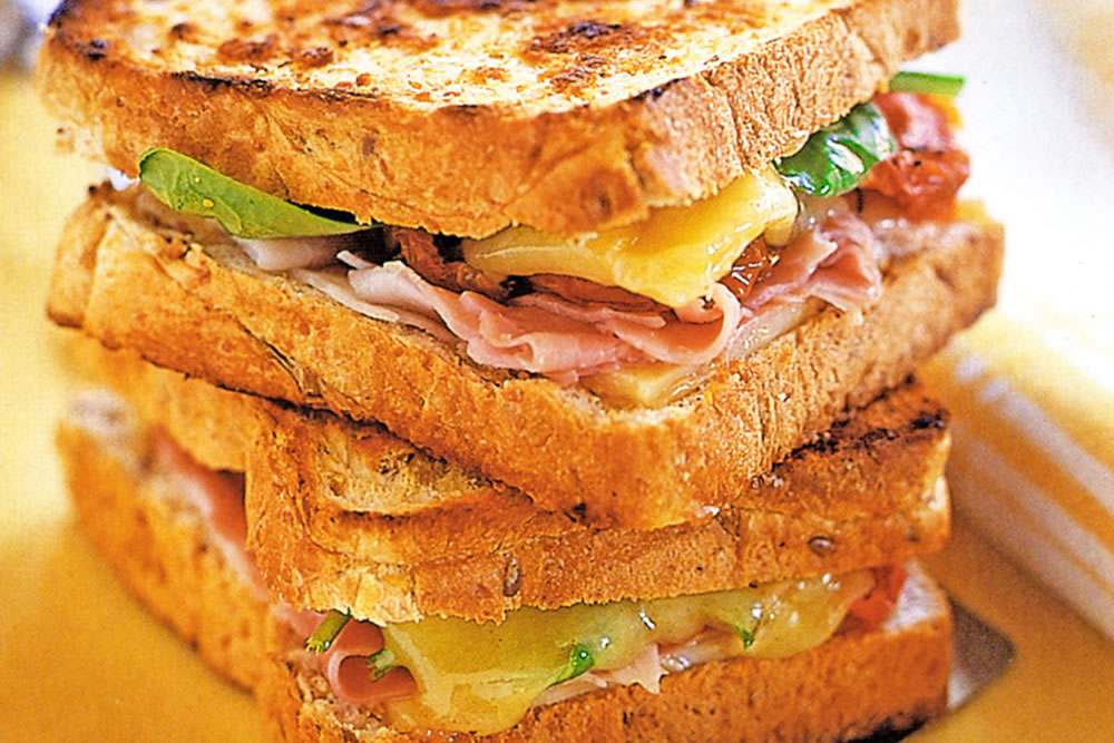 Gourmet Toasted Sandwiches