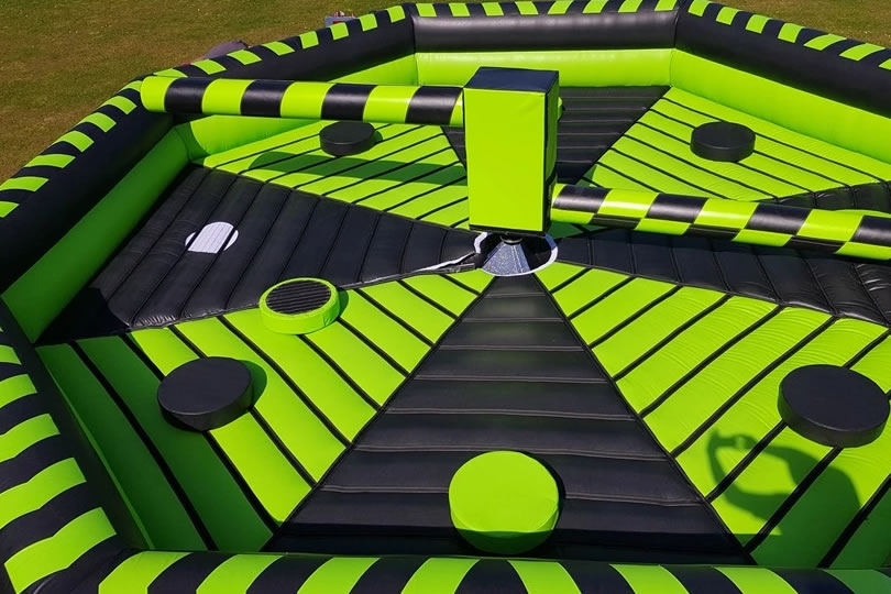 Inflatable Wipeout Spinner